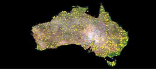 Aus satellite pic