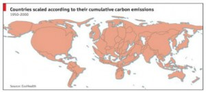 scaled emission map